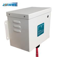 Factor de potencia de la energía eléctrica de tres fases Factor de ahorro con caja metálica