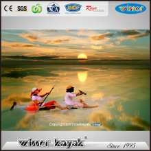 Winner Sit on Top Canoa de kayak de PC 100% transparente Vue-1