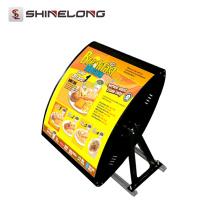 Guangzhou Best Selling 2/3 Seiten Hanging Fast-Food-Menü Bord