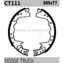 Pièces de haute perfoemance K11064 S358-2140T pour les chaussures de frein Dodge coûtent