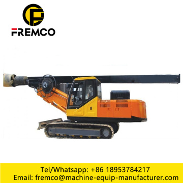 Drilling Rig Machine For Crawler Type