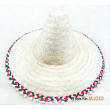 fashion cheap upturned cooler mexican straw hats