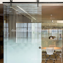 Двери сарая европейского типа из закаленного стекла