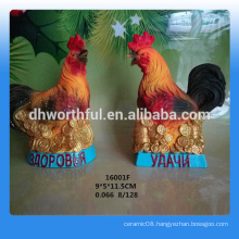 2016 new style resin rooster statue