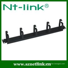 5 pcs anneau métallique gestion horizontale des câbles