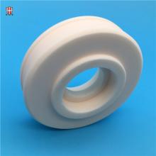 dielectric 99 alumina ceramic cylinder customized