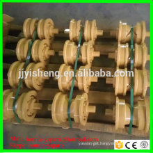 High quality single double flange dozer track roller for d375