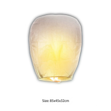 Giant Biodegradable No File Paper Sky Lantern para decoraciones de fuentes de fiesta