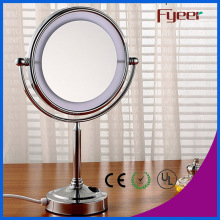 Fyeer à la mode 8 pouces Ultra Thin LED Maquillage Miroir de table