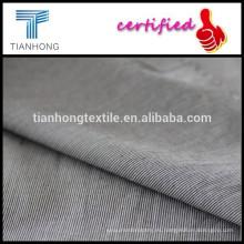 Llana de algodón tejido fabric/100% hilados de algodón teñido de tela teñida hilado de tela rayas