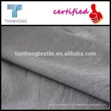 Fabric/100% fio de algodão tingido fio de faixa de tecido de algodão/tela tingida de tecelagem de algodão liso