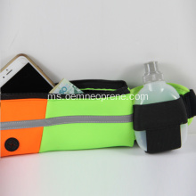 Hot Sale Neoprene Waist Belt With Holder Bottle