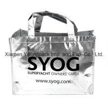 Fördernde kundenspezifische gedruckte metallische nichtgewebte wiederverwendbare Einkaufstasche