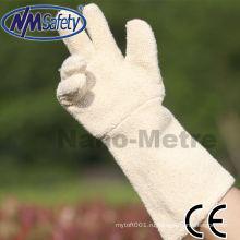 NMSAFETY махровые длинные перчатки духовки