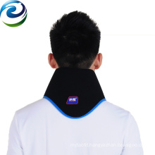 Freezer and microwave hot and cold neck wrap