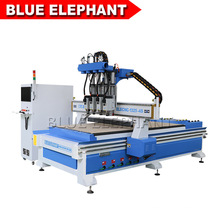 New Product Elecnc-1325 Wood CNC Router with 4 Spindles