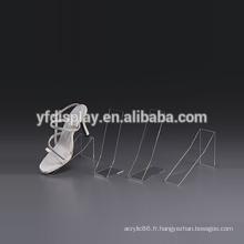 Porte-chaussures et supports en acrylique