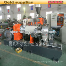 PP / PE con la máquina de la granulación de la madera de la basura WPC SHJS 65/150