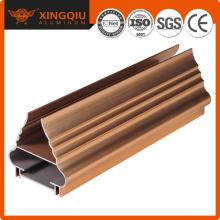 Proveedor de perfil de aluminio de China, perfil de perfil de aluminio de puerta corredera