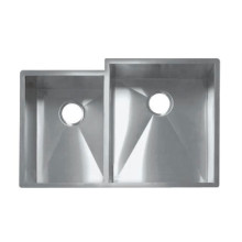 Hand-made kitchen stainless steel sink