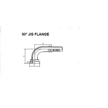90° JIS-Flansch 88191