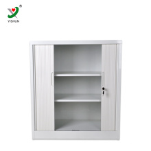 Hot sale knock down safe stainless steel cabinet/small sliding door cabinet