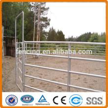 Painel de gado de metal versátil / painel de gado de arame soldado galvanizado de arame