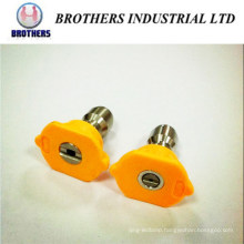 Degree 15 Yellow 1/4 Inch QC Spray Nozzle for High Pressue cleaning