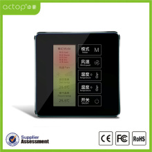 Smart Hotel Touch Screen Temperature Controller Thermostat