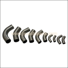 63MM - 2.5 OD 45 DEGREE STAINLESS STEEL EXHAUST POLISHED PIPE TUBE BEND