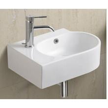 Bassin de salle de bains en céramique suspendu (1053A)