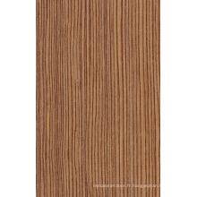 Panneau de grain UV ultra-brillant et bois pour armoire de cuisine