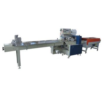 Empaquetadora de papel pegajoso, máquina de empaquetado retractable automática del papel pegajoso