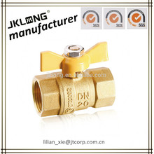 DR brass gas ball valve cw602n OEM supported