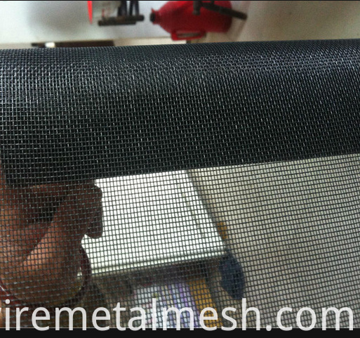 black Window Screen