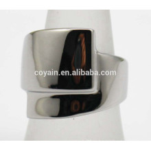 Anillo de acero inoxidable 316L que establece los diseños únicos del anillo para las mujeres