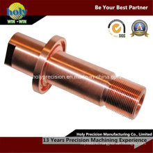 CNC Red Copper Machining Part