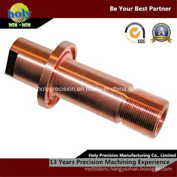 CNC Red Copper Machining Part