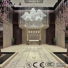 New Design Crystal Luxury Projekt Pendelleuchte mit Lobby