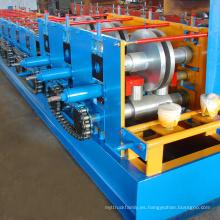 Venta caliente maquinarias de construcción c purlin rollo forma la máquina