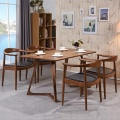 Nordic Style Wooden Furniture Dining Room Chair with Solid Wood