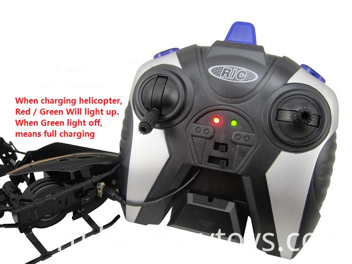 RC Helicopter with LED Light