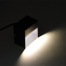 Wall down light outdoor LED step light 3W