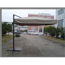 Outdoor Aluminium New Square Pole Hanging Umbrella
