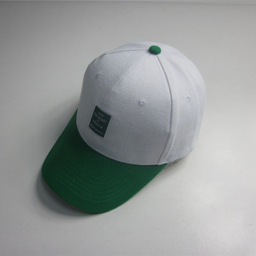 Cotton Woven Label Patch Sport Cap