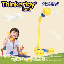 Brinquedos educativos do enigma do modelo do microfone para crianças