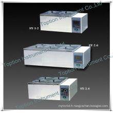 Bouilloire de bain d'eau de laboratoire SY-2-4 (doubles rangées, quatre trous)