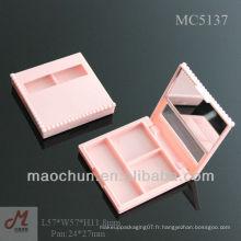 MC5137 Maochun étui cosmétiques cache-yeux, étui à paupières, palette d'ombre à paupières personnalisée