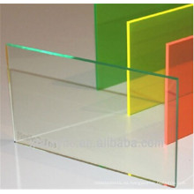 Hoja de PVC transparente de PVC óptico para doblado en frío