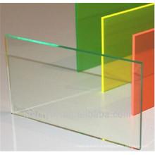 Feuille transparente de PVC de PVC optique pour le cintrage à froid